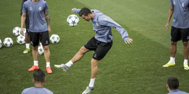 Zidane laat Ronaldo tegen Sporting staan