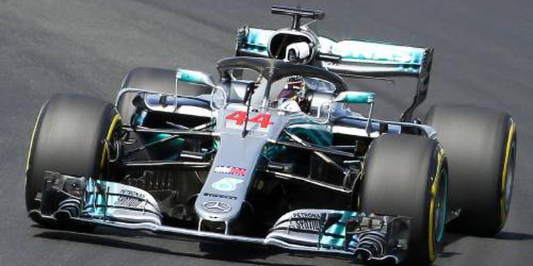 Hamilton door schuiver naar achterhoede