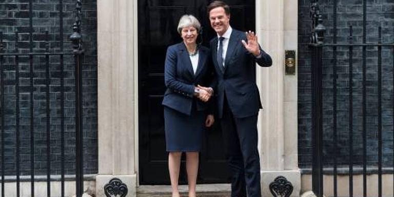Britse premier bespreekt brexit met Rutte
