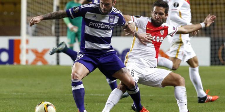 Anderlecht zonder gangmaker Defour