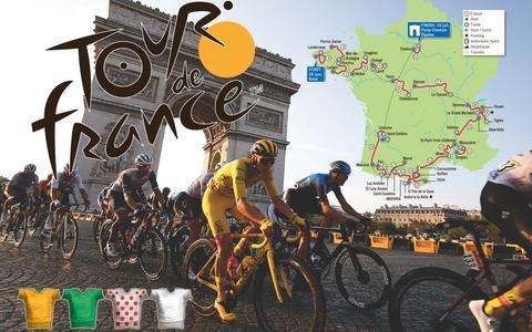 De Tour de France trekt tweemaal de Mont Ventoux op en trekt door Andorra   in beeld