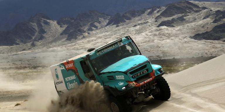 Tweede eindzege trucker De Rooy in Dakar