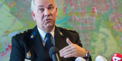 Medaille voor politiechef Amsterdam
