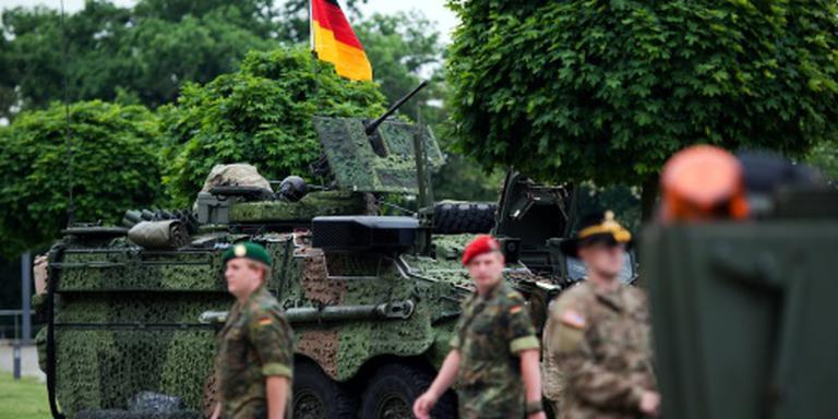 Berlijn wil EU-militairen in leger