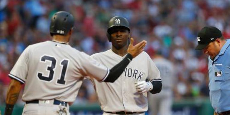 Yankees verliezen ondanks homeruns Gregorius