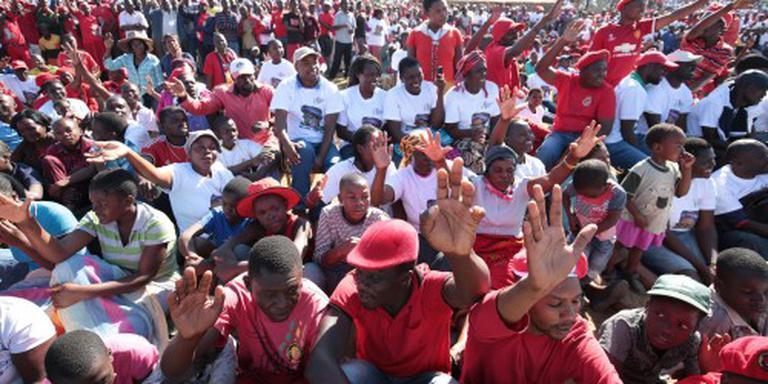 Traangas tegen oppositiebetogers Zimbabwe