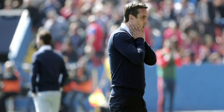 Neville ontslagen bij Valencia