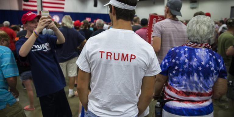 'Helft van Trump-aanhangers jammeraars'
