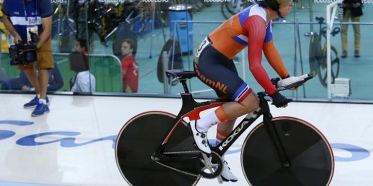 Eerste Nederlandse medaille in Rio op de baan