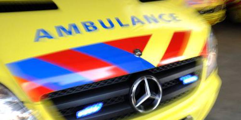 Stadjer uit auto geslingerd bij ongeval A7.