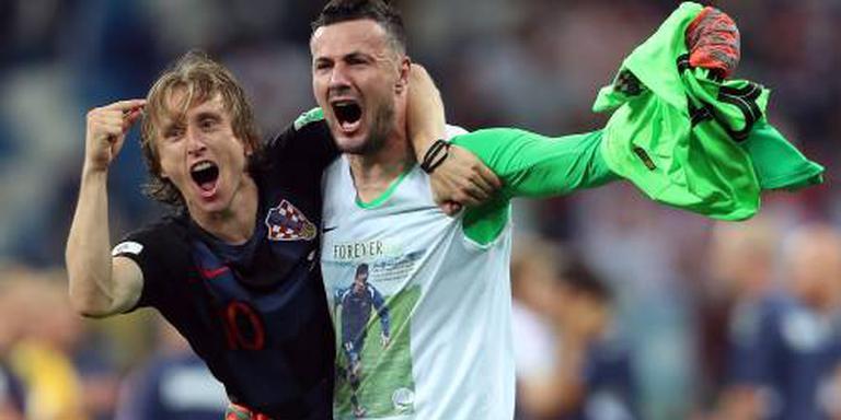 Doelman Subasic de held van Kroatië