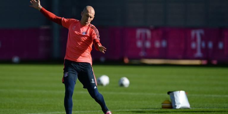 Robben vervroegd in training bij Bayern