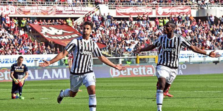 Juventus wint ondanks zeldzame tegentreffer