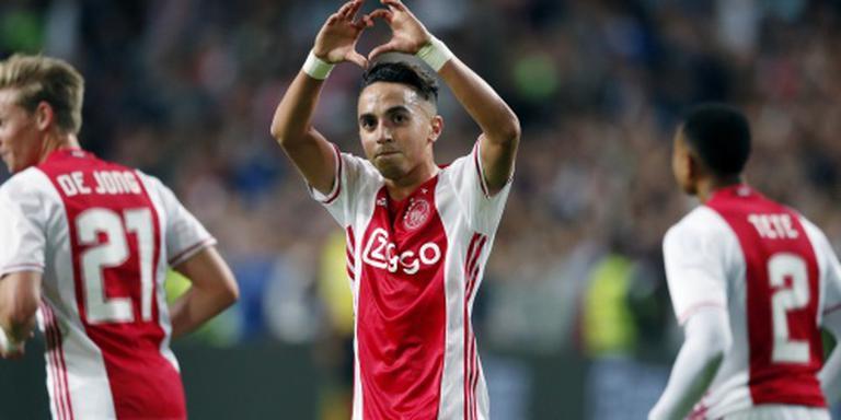 Wisselspelers laten zich zien bij Ajax
