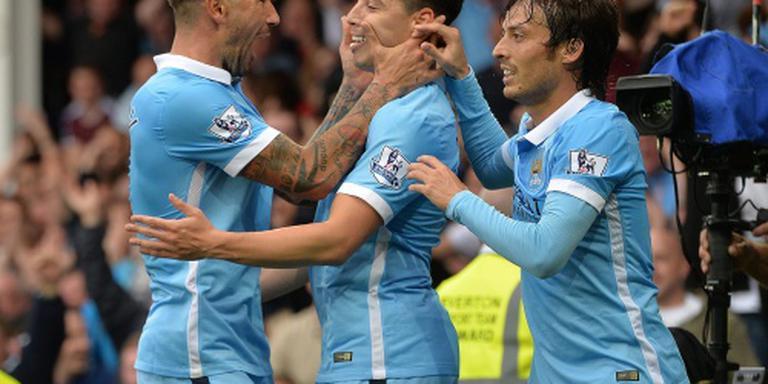 Nasri bezorgt Manchester City de winst