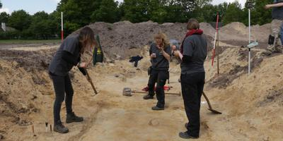 In Dalfsen werd vorig jaar een grafveld ontdekt