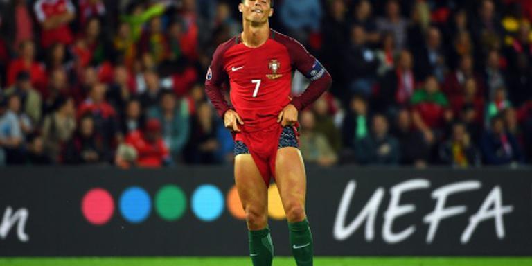 Missers van Ronaldo breken Portugal op
