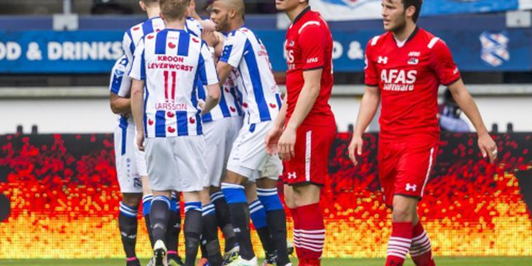 AZ incasseert nederlaag in Heerenveen