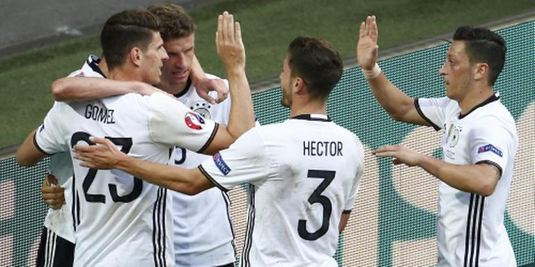 Duitsland domineert tegen Slowakije