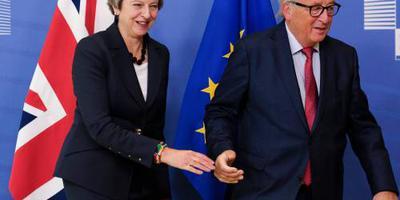 May woensdag in Brussel op de thee bij Juncker