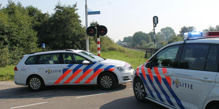 Treinverkeer Groningen-Leeuwarden gestremd door dodelijk ongeluk.
