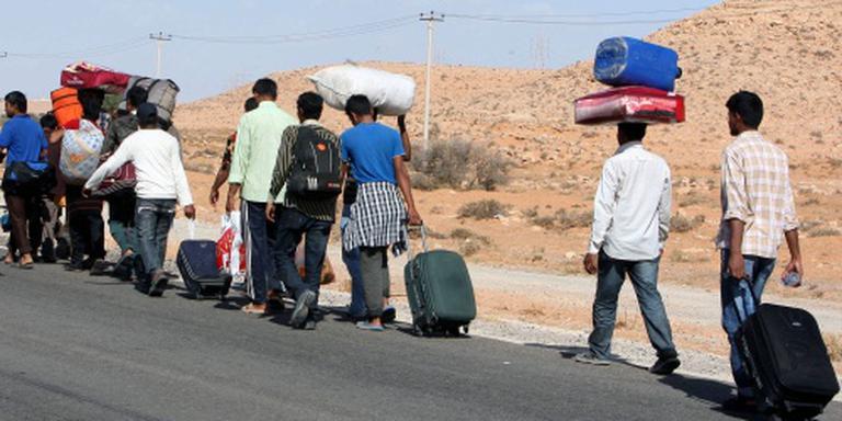 Bloedbad na ruzie migranten en smokkelaars