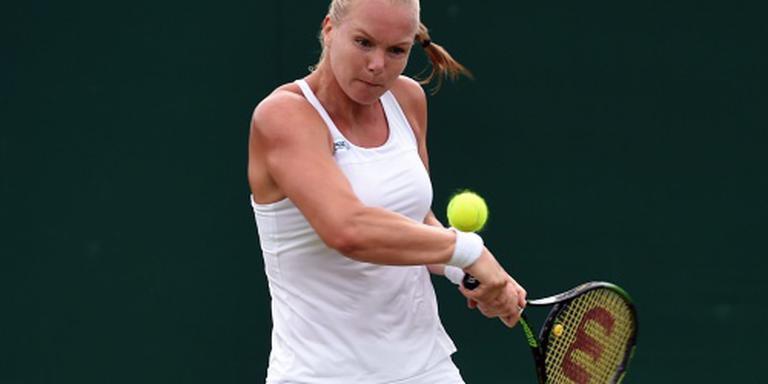 Bertens treft Halep op centercourt Wimbledon