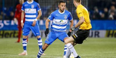 PEC Zwolle blijft worstelen in eigen huis