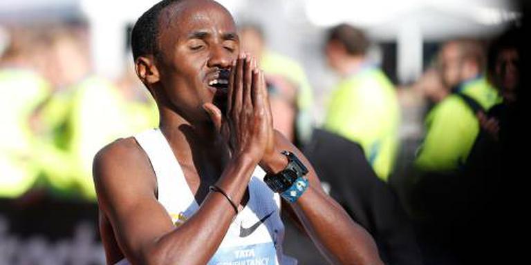 Nageeye geeft op in slotfase marathon