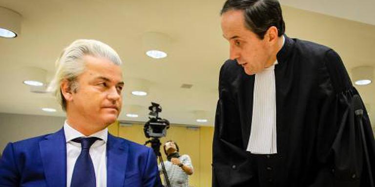 Wilders komt niet naar zijn rechtszaak