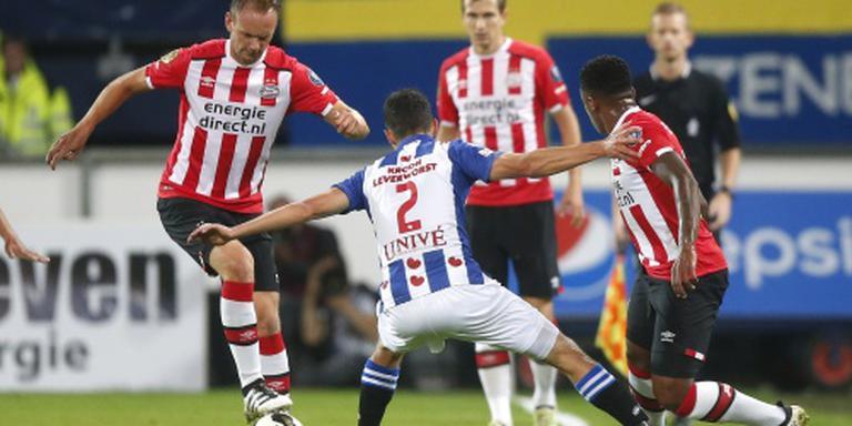 Heerenveen maakt eind aan reeks uitzeges PSV