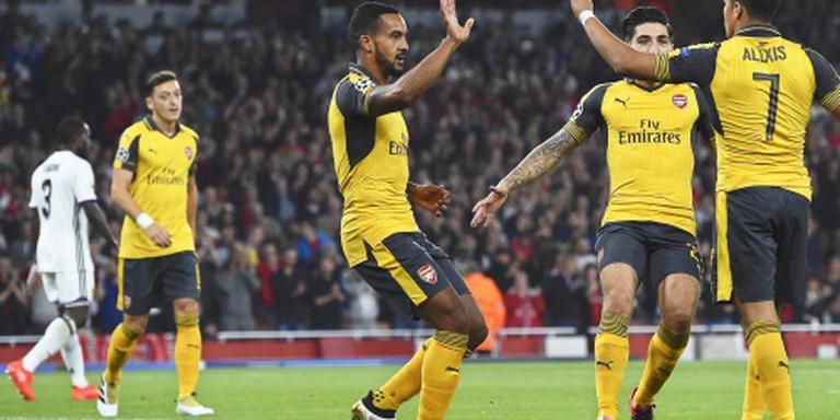 Walcott bezorgt Arsenal zege