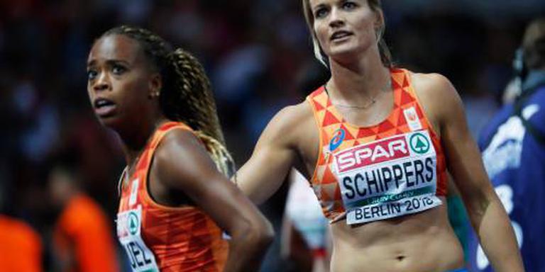 Estafettevrouwen strak naar finale 4x100 meter