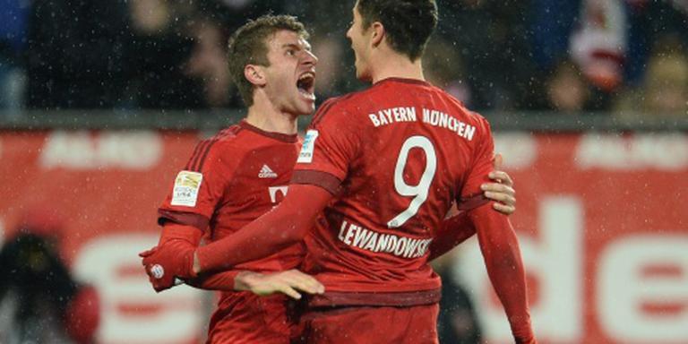 Lewandowski leidt Bayern weer naar winst