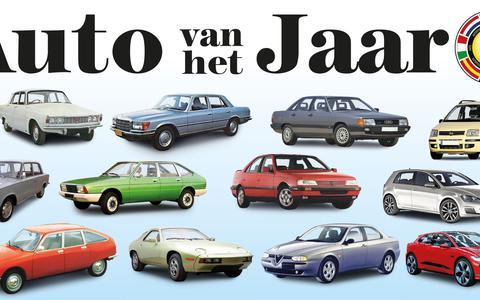 Fotoshow: Bekijk hier de 56 Auto's van het Jaar, van de Rover uit 1964 tot de Jaguar uit 2019