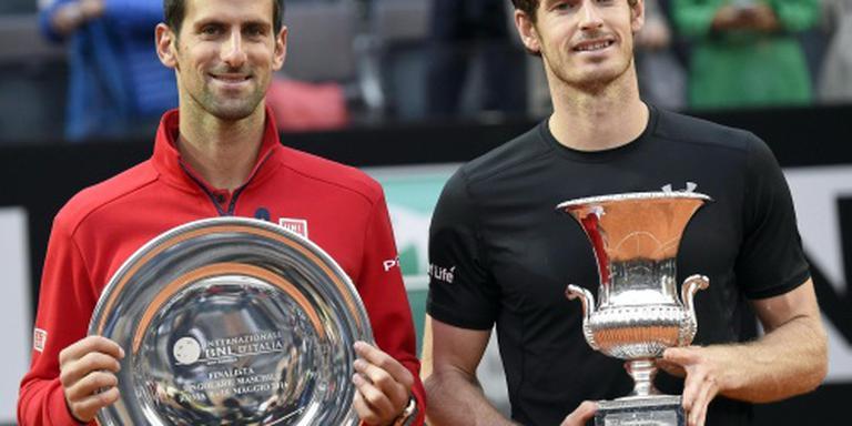 Djokovic en Murray in spelersraad ATP