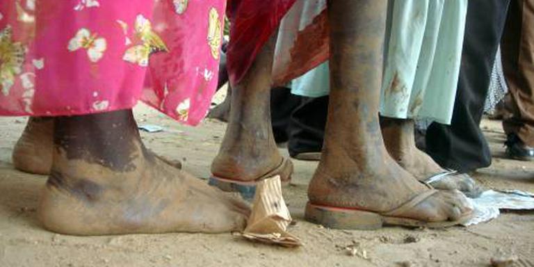 Drie miljoen Zuid-Soedanezen op de vlucht