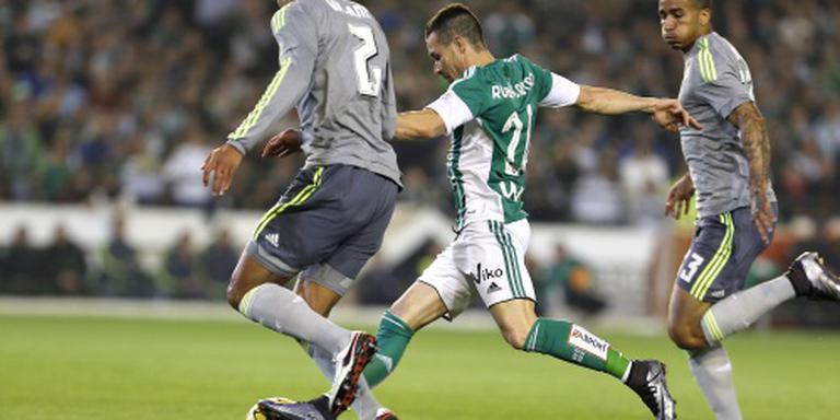Averij Real Madrid bij Betis
