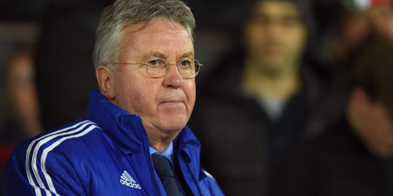 Hiddink veroordeelt gedrag Chelsea-fans