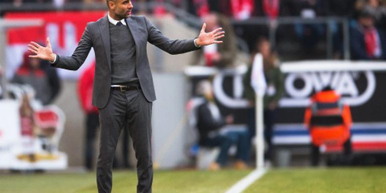 Guardiola wacht met smart op Robben