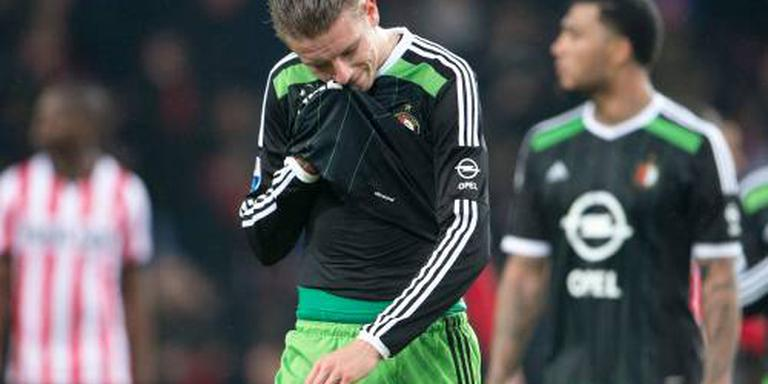 Terugslag bij Feyenoorder Van Beek