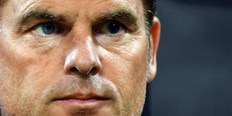 De Boer weer onderuit met Inter