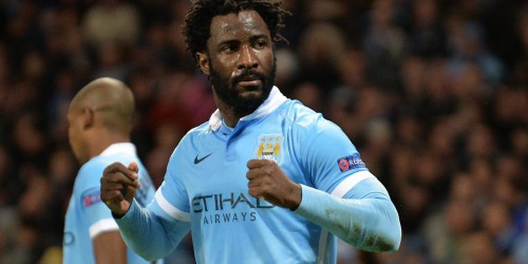 Bony ontevreden bij Manchester City