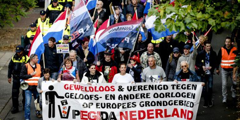 Anti-Pegida-activisten Den Haag aangehouden