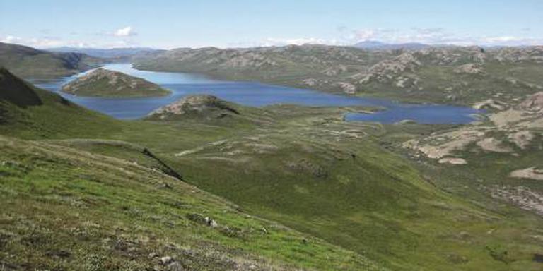 Grote krater gevonden onder Groenlands ijs