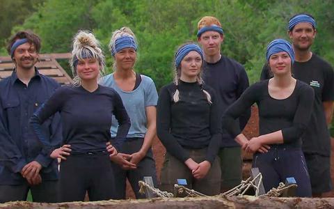 De groep van Kamp Noord met rechts boerin Annemiek uit Tynaarlo.