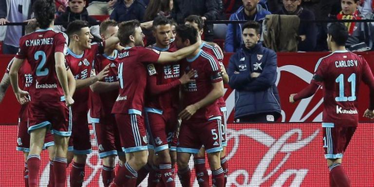 Sevilla niet langs tiental van Real Sociedad