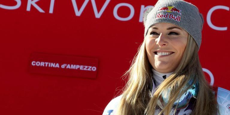 Vonn wint ook super-G in Cortina d'Ampezzo