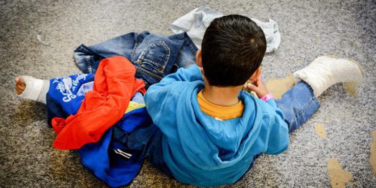 Vluchtelingenkinderen in Nederland geholpen