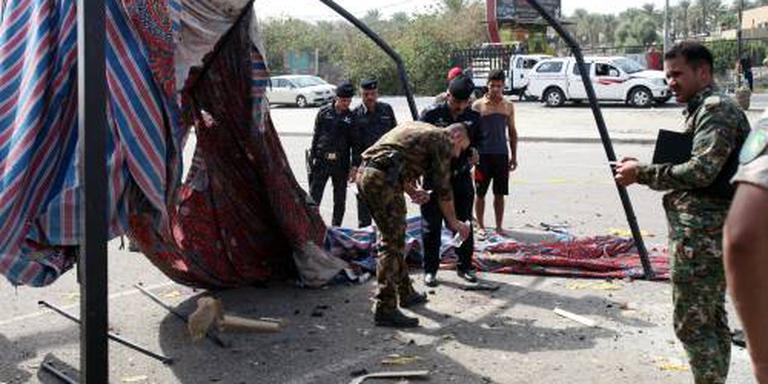 Dodelijke zelfmoordaanslag bij Bagdad